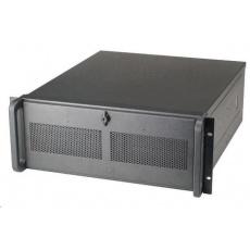 CHIEFTEC skříň Rackmount 4U ATX, UNC-410S-B-U3, 400W, Black