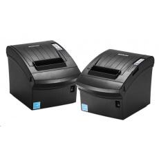 BIXOLON/Samsung SRP-350plusIII pokladní termotiskárna, USB/LAN/BT, černá, řezačka, zdroj