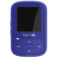 SanDisk Clip Sport Plus MP3 Player 16GB Global, Blue