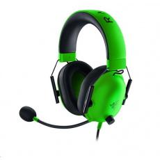 RAZER sluchátka Blackshark V2 X, drátové, zelená