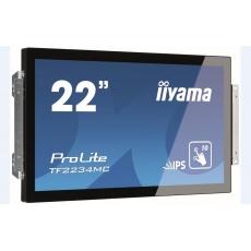 Iiyama ProLite TF2234MC-B7AGB, 54.6cm (21.5''), Projected Capacitive, 10 TP, Full HD, black