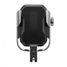 Baseus Armor univerzální držák na mobilní telefon na kolo / motocykl, černá-stříbrná