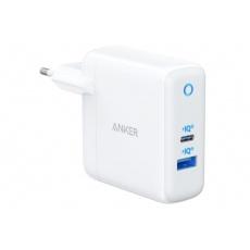 Anker PowerPort Atom III 45W, USB-C + 15W USB-A, Power IQ 3.0, bílá