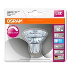 OSRAM LED SUPERSTAR PAR16 36° 5,5W 9940 GU10 350lm 4000K (CRI 90) 25000h A+ DIM (Krabička 1ks)