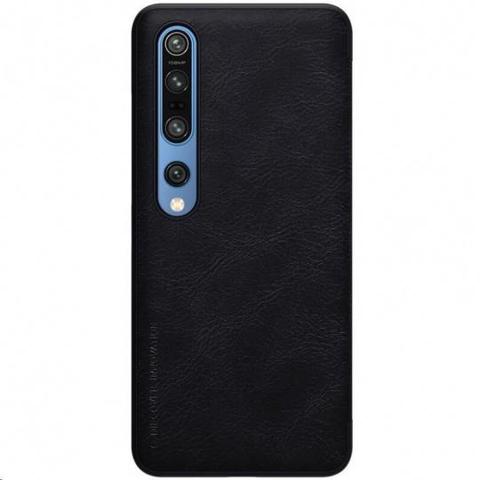 Nillkin Qin Leather Case pro Xiaomi Mi 10 / 10 Pro Black
