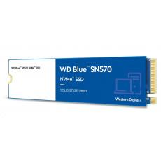 WD BLUE SSD NVMe 2TB PCIe SN 570, Gen3 8 Gb/s, (R:3500, W:3000MB/s)