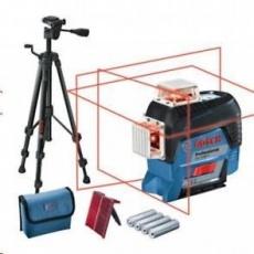 BOSCH Bosch GLL 3-80 C líniový laser + statív BT 150 (carton kit)