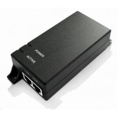 MaxLink PI15 aktivní gigabitový PoE injektor, 802.3af, 15W (48V, 0.32A), napájecí kabel