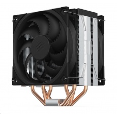 SilentiumPC chladič CPU Fera 5 Dual Fan ultratichý/ 120mm fan/ 4 heatpipes/ PWM/ pro Intel, AMD