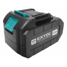 Extol Industrial (8791115B6) baterie akumulátorová 18V, Li-ion, 6000mAh