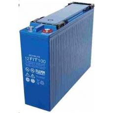 Baterie - Fiamm 12 FIT 100/23 (12V/100Ah - M8), životnost 12let