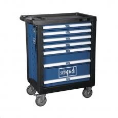 Scheppach TW 1000 - dílenský vozík s nářadím, 7 zásuvek, 263 dílů