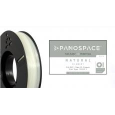 FILAMENT Panospace type: PLA -- 1,75mm, 1000 gram per roll - Přírodní