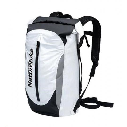 Naturehike vodotěsný sportovní batoh 30l 980g - bílý
