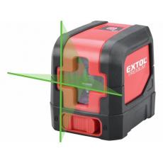 Extol Premium (8823306) laser zelený liniový, křížový samonivelační