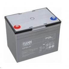 Baterie - Fiamm 12 FGL33 (12V/33Ah - M6)  životnost 10let