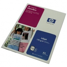 HP Iron-on Transfers-12 sht/A4/210 x 297 mm, 170 g/m2, C6050A