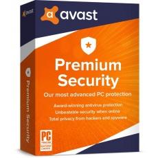 _Nová Avast Premium Security Multi-Device 1 licence na 36 měsíců (až na 10 PC )