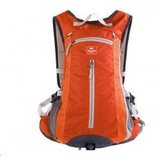Naturehike cyklistický batoh 15l s úchytem helmy - oranžový