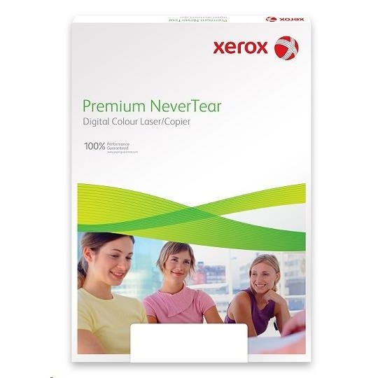 Xerox papír Premium NeverTear Heavy Clear Plain (250g, A3) - 100 listů v balení