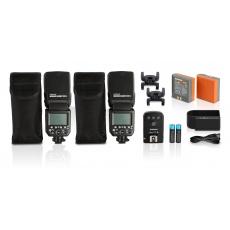 Hahnel Blesk Hahnel Modus 600RT MK II Pro Kit Nikon