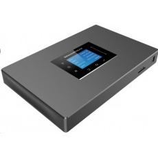 Grandstream UCM6302 [IP PBX - IP pobočková ústředna, 2xFXO, 2FXS, 3xRJ-45, 2x USB, SD-card, PoE+]