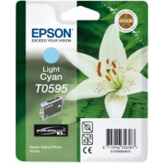 "EPSON ink bar Stylus photo ""Lilie"" R2400 - light Cyan"