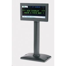 """Birch LCD-50 Zákaznický grafický displej, barevný TFT-LCD, 5"""", černý, USB/RS232"""