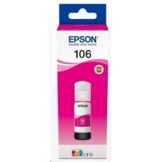 EPSON - poškozený obal - ink bar 106 EcoTank Magenta ink bottle