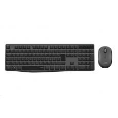 SPEED LINK set klávesnice a myš NEOVA Deskset, bezdrátová, šedá, DE Layout
