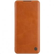 Nillkin Qin Leather Case pro Xiaomi Mi Note 10 / 10 Pro (Brown)